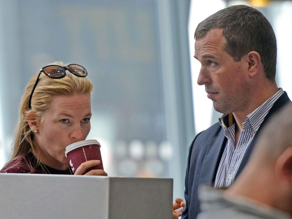 Autumn and Peter Phillips pictured during a holiday in 2016. Picture: Backgrid