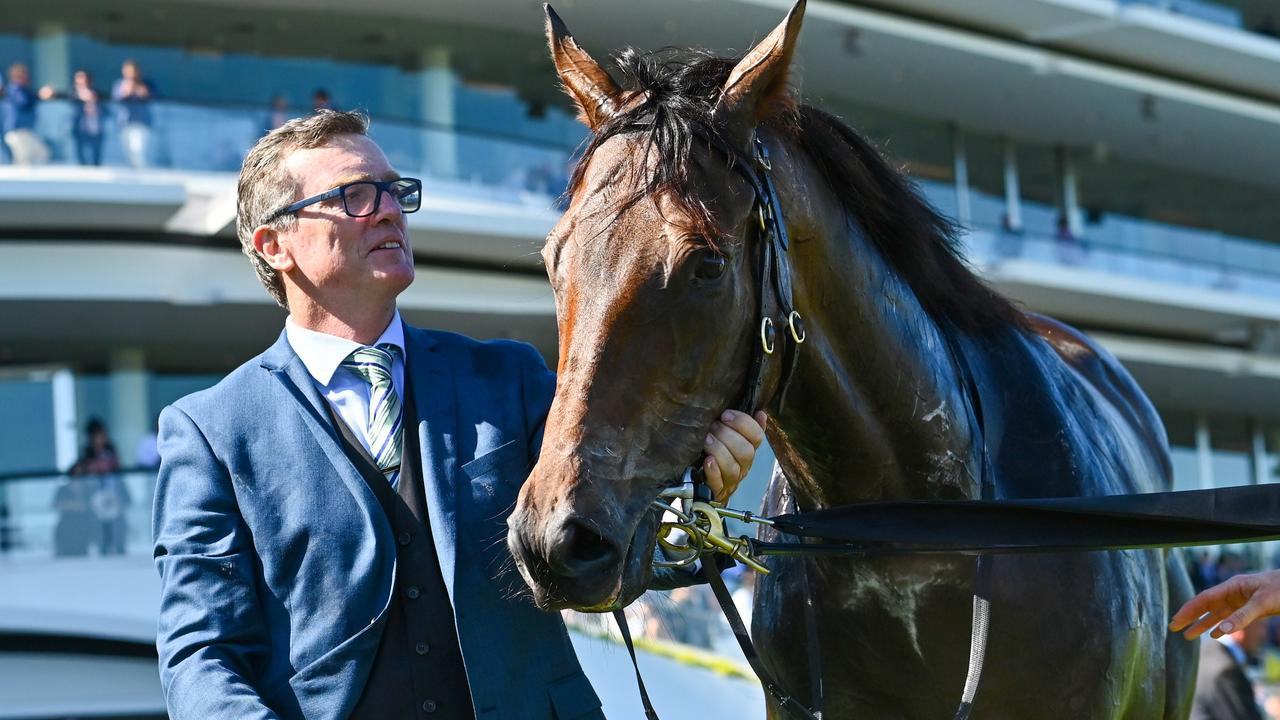 David Vandyke takes a three-pronged attack to Eagle Farm on Saturday. Picture: AAP