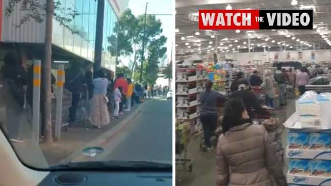 Long Lines Form at Melbourne Supermarkets as Stage Four COVID-19 Lockdown Announced