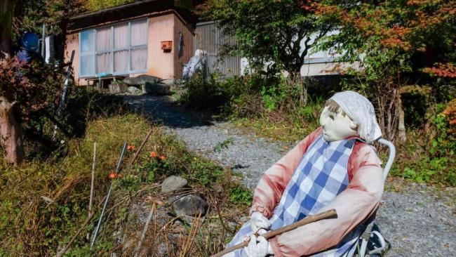 "This small village becomes increasingly void of people as time goes on. The elderly die and the young people leave for city jobs. Not even a local grocery store remains open. ""Only 27 people live in this village but the number of scarecrows is tenfold, like 270,"" the 70-year-old doll maker told AFP."