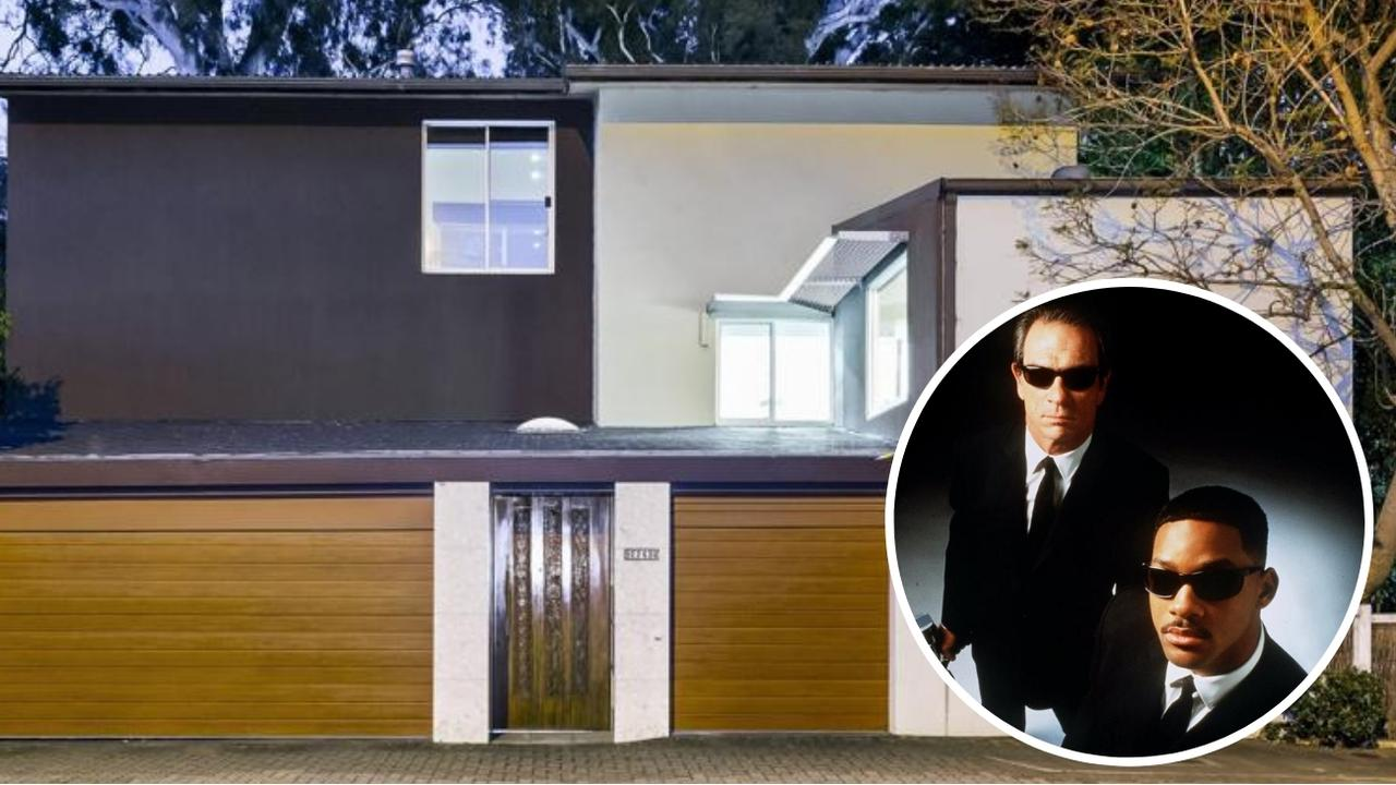The Men in Black house at 224b Cross Rd, Unley Park is now available for rent.