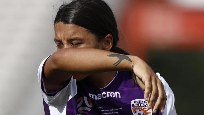 sam Kerr couldn't swing the course of the game.