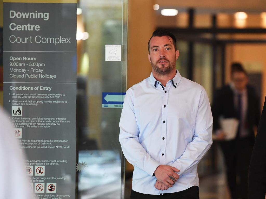 Brendan Leigh Russell ran a body modifying business at Erina. Picture: AAP Image/Peter Rae