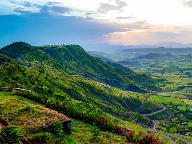 30. ETHIOPIA While you weren't paying attention, Ethiopia was improving its tourist infrastructure and next year will be the time to pay a visit. It's home to nine UNESCO World Heritage sites, including the remarkable Lalibela cave church and has some of the best coffee in the world.