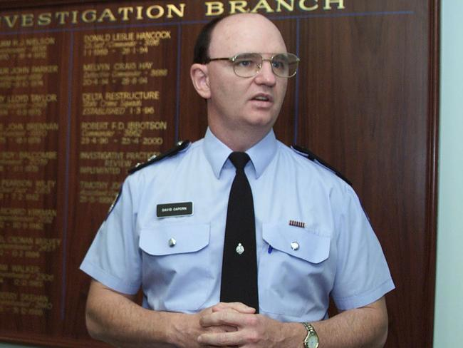 THE former head of the Macro task force into the Claremont serial killer, Dave Caporn, has defended the taskforce's investigation. Picture: Neil Eliot / The West Australian