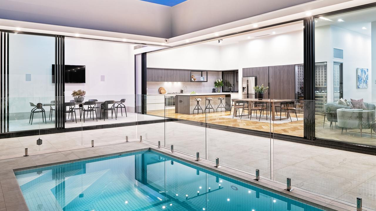 There's also a pool. Pic: Williams Real Estate