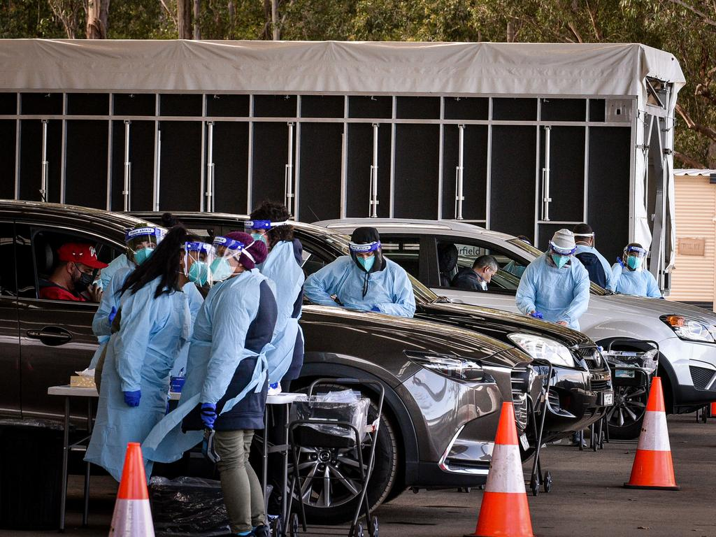 The family that relocated to SA are in isolation and have returned two negative Covid-19 tests. Picture: NCA NewsWire / Flavio Brancaleone