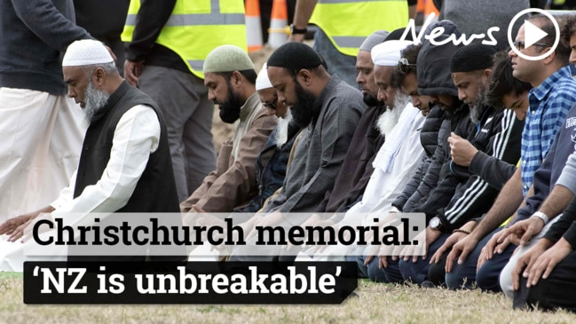 Christchurch shootings memorial: Victims remembered in muslim call to prayer