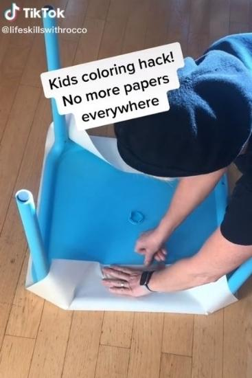 TikTok mum shares kids' colouring hack we wish we'd known about sooner
