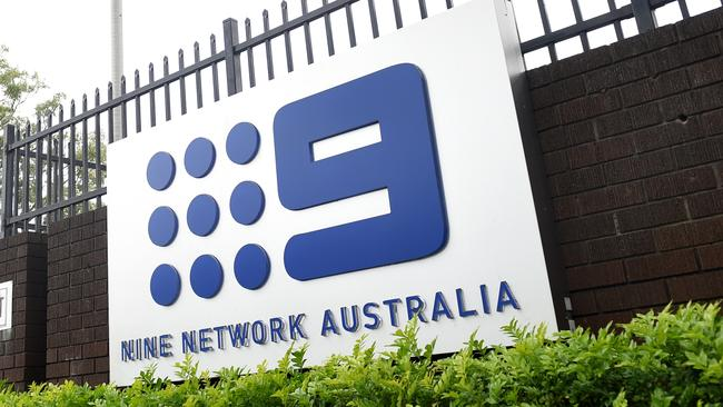 A police operation has been carried out at Channel Nine's Willoughby studios. Picture: Paul Miller/AAP