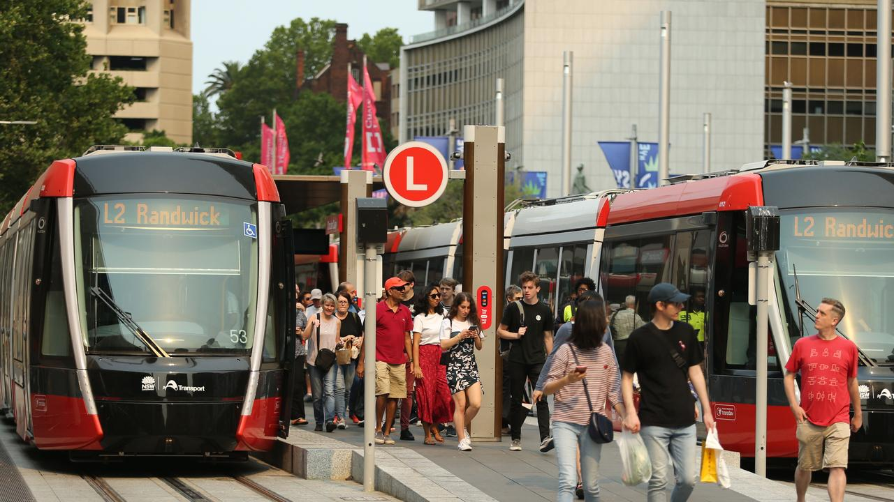 First Day of Light Rail
