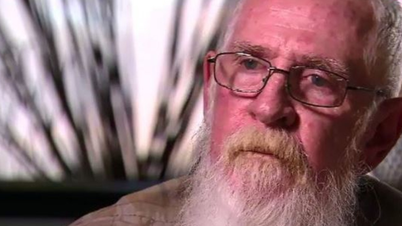 """Ian Hayman says he considers himself """"extremely lucky"""" to still be alive today. Source: A Current Affair/Nine News"""