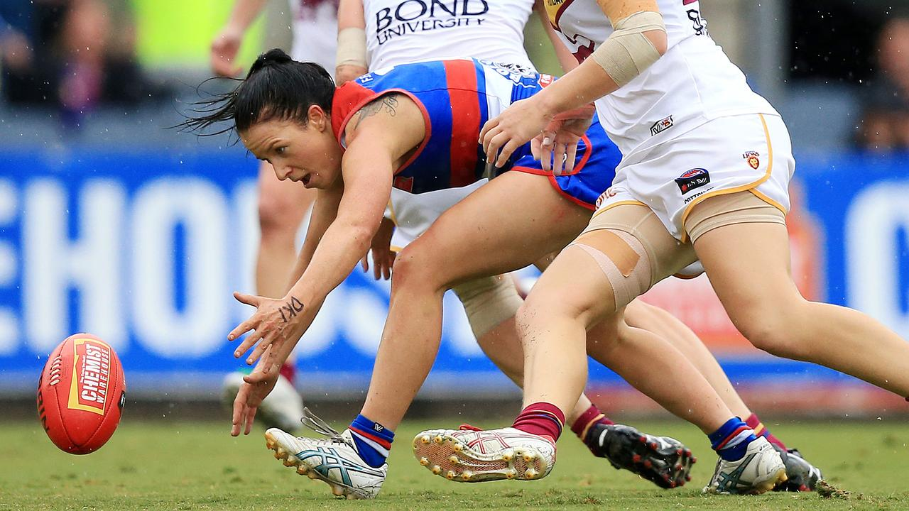 Brooke Lochland in action during last year's AFLW Grand Final. Picture: Mark Stewart