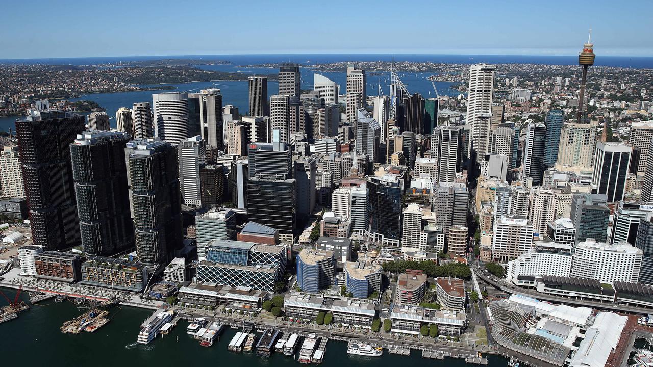 Rental vacancies skyrocketed in the Sydney CBD.