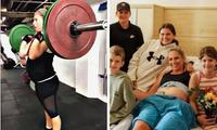 NSW mum-of-seven did CrossFit during her pregnancy