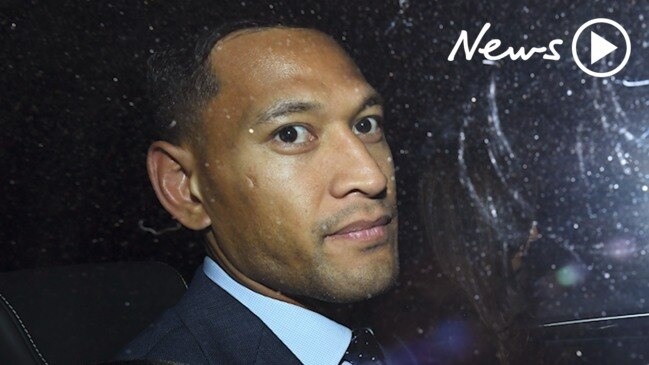 Israel Folau found guilty of breaching Rugby Australia code of conduct