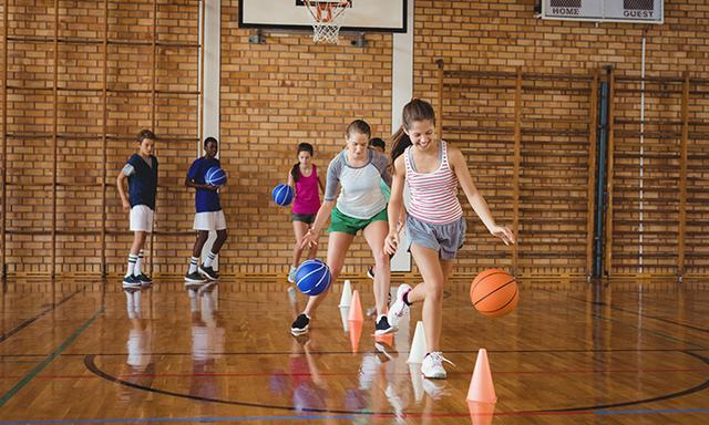 There's a lot we as a society need to do to get our girls playing sport throughout their teens, and into adulthood.