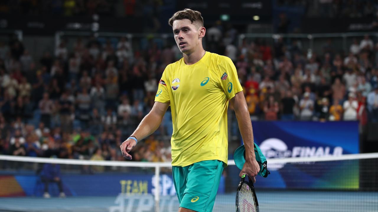 Alex de Minaur might have played his best tennis against Rafael Nadal.