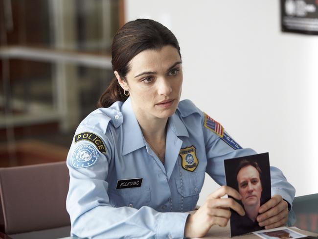 Rachel Weisz as a UN peacekeeper in Kondracki's breakthrough film, The Whistleblower. Picture: Hopscotch