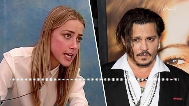 LISTEN: Amber Heard admits to 'hitting' ex-husband Johnny Depp