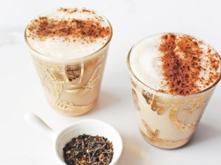 Healthy chai latte by Jessica Sepel.
