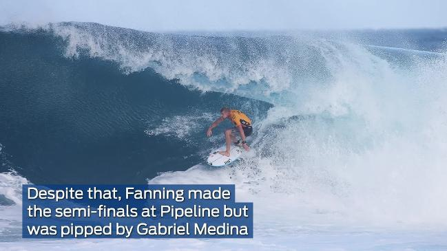EXPLAINER: World surf champ Mick Fanning calls time