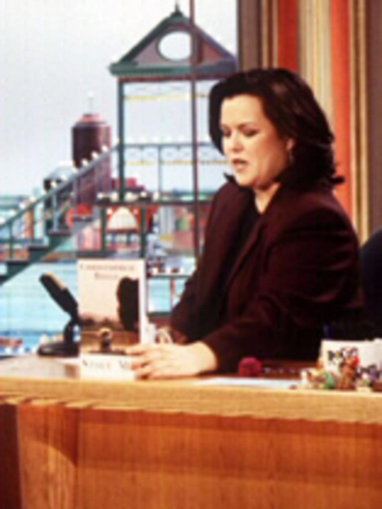 Rosie O'Donnell is still in Brad Pitt's bad books.