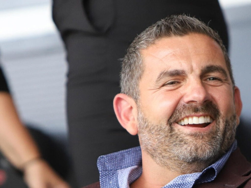 Bill Papas was spotted at a soccer match in Greece on the weekend.