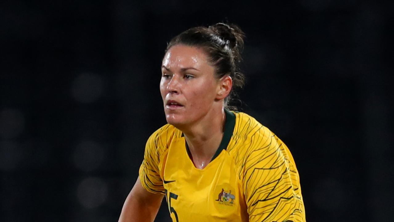 Emily Gielnik will turn out for the Melbourne Victory this year. (Photo by Catherine Ivill/Getty Images)