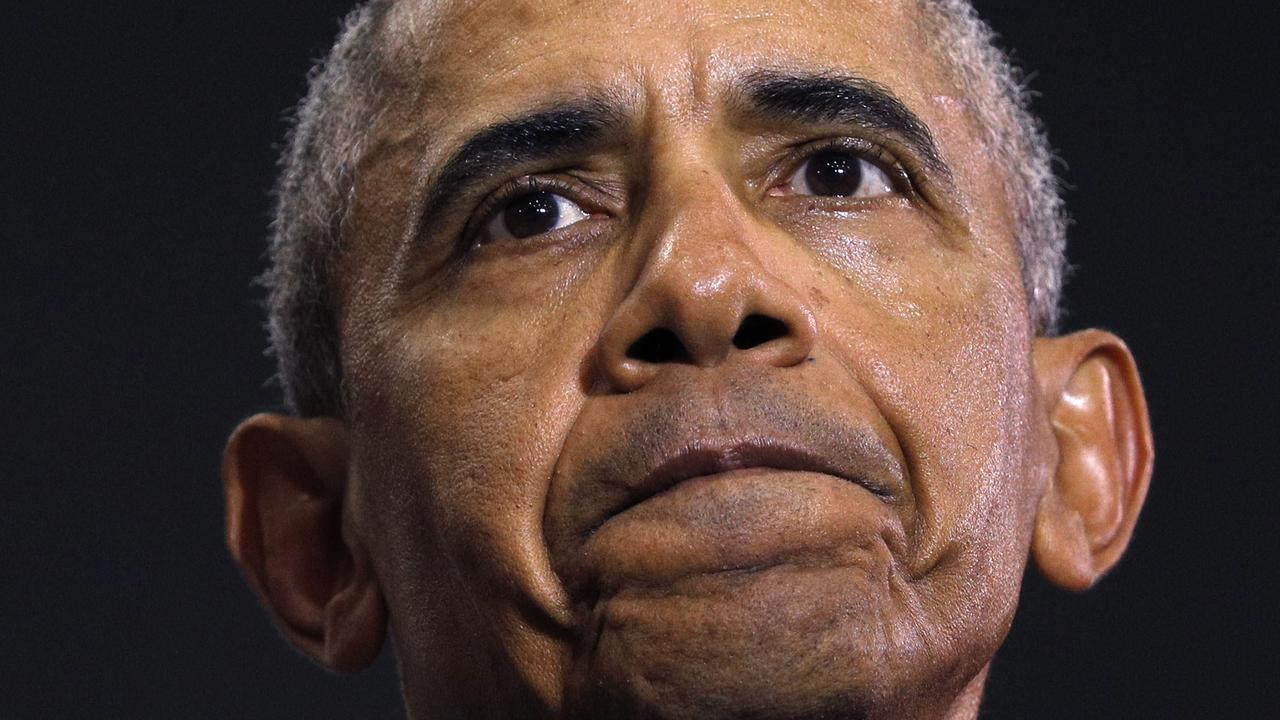 Former President Barack Obama was on the clock for up to seven hours every day. Picture: Bill Pugliano/Getty Images/AFP