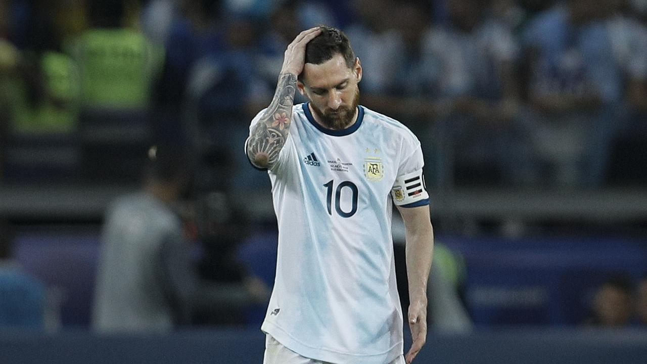 Messi's legacy hinges on next year's Copa America.