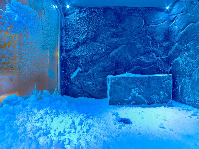 SNOW GROTTO, VIKING SPIRIT: It's one of the coolest spaces on cruise ships — literally. Part of Viking Ocean Cruises' LivNordic on-board spa, the Snow Grotto — a room where artificial snowflakes descend from the ceiling through chilled air — is designed to be used in tandem with the sauna as part of a Nordic spa ritual. The Snow Grotto will be among the on-board features on the soon-to-launched Viking Spirit, which is set to become the first of the fleet to spend a summer cruising from Australia next year. If you're more into soaking up the sunshine on deck than chilling out in a freezing room, the ship also features a unique glass-backed infinity pool that allows guests to swim surrounded by their destination. vikingcruises.com.au