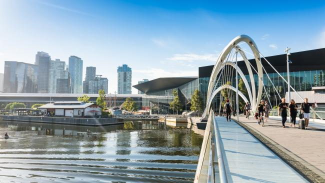 Southbank and Melbourne Convention and Exhibition Centre.