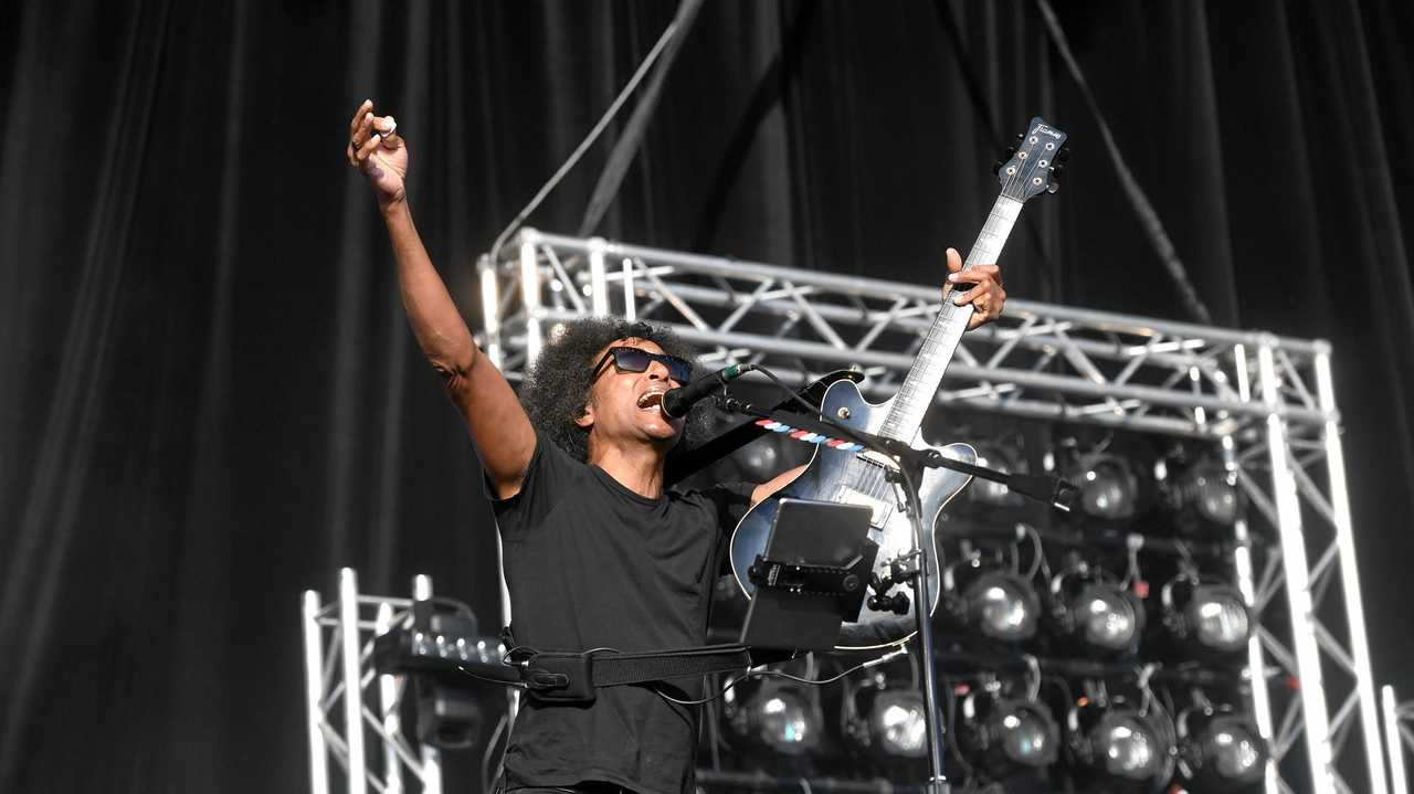 Alice in Chains perform at Download Festival 2019 in Melbourne at Flemington Racecourse. Picture: Asagai Images