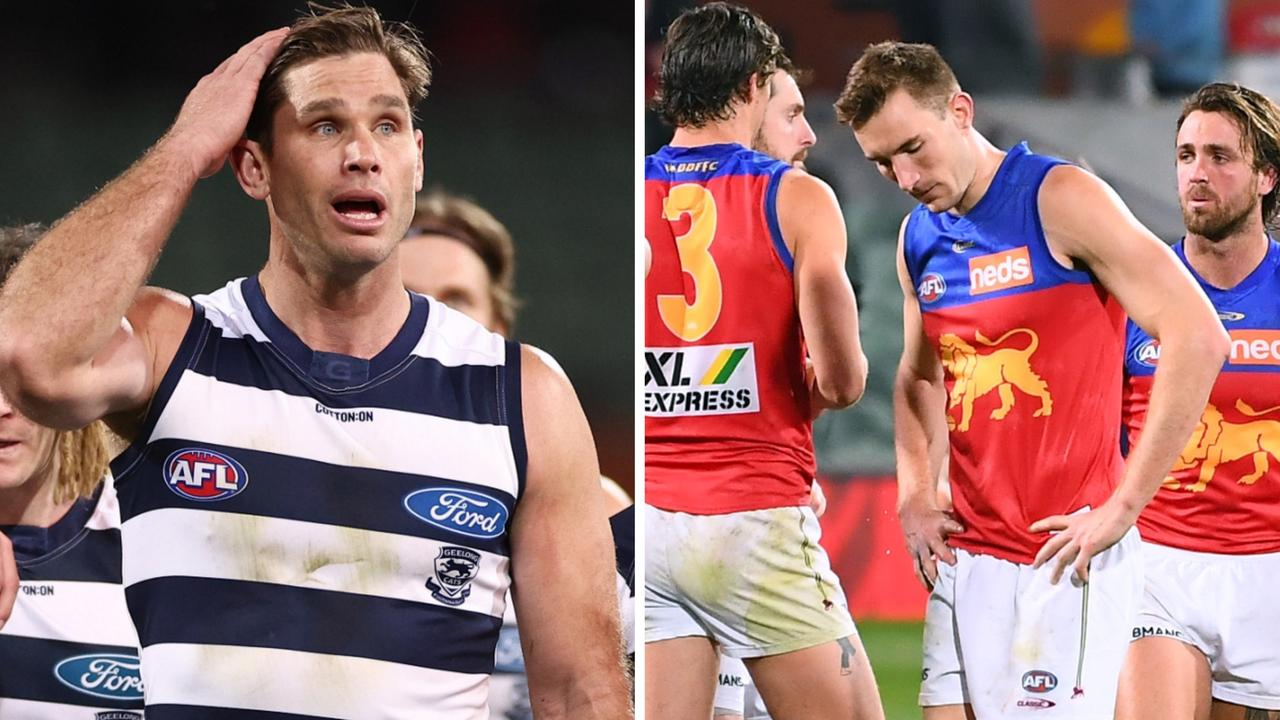 Will Geelong and Brisbane go out in straight sets? History is against it.