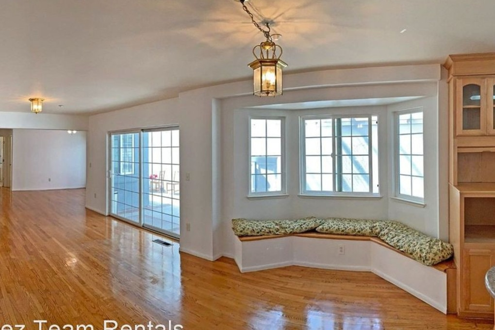 The main living space where they likely set up their workspace. Picture: Realtor