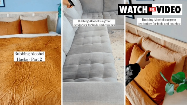 An Aussie mum known for her clever home hacks has shared a handy and affordable way to get rid of wrinkles on bed sheets.