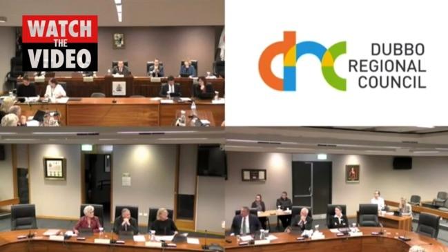 Fiery Dubbo council meeting