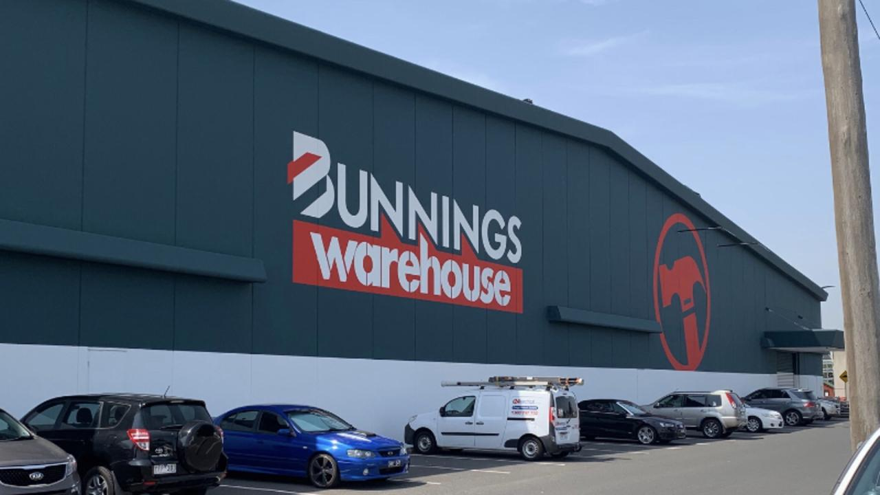 The Bunnings store in Moorabbin no longer features the slogan.