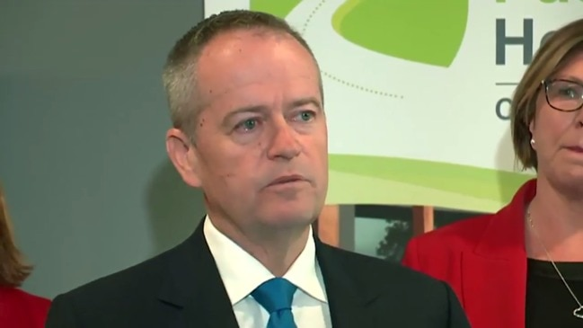 Shorten close to tears over mum (ABC)