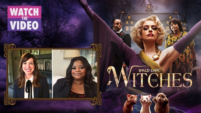 Anne Hathaway and Octavia Spencer talk The Witches