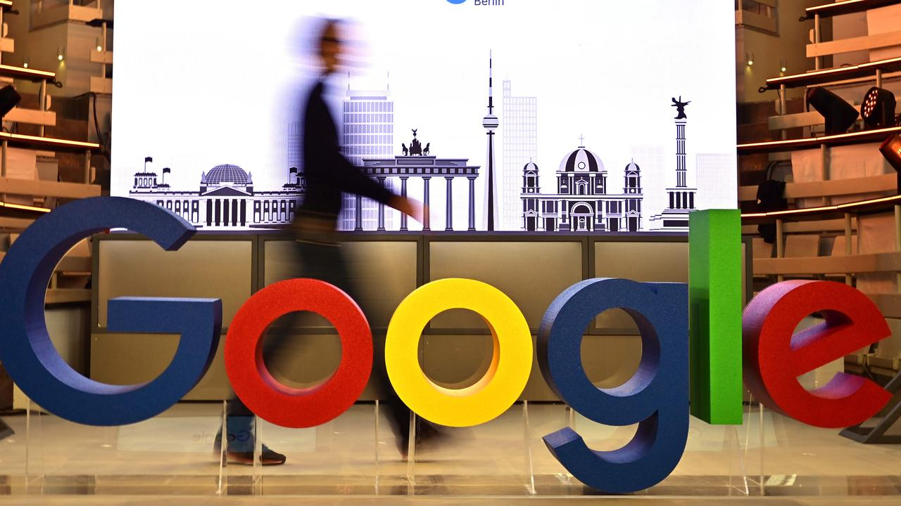 Tech giants including Google and Facebook would be required to pay for the news they use under new laws set to be introduced into parliament tomorrow. Picture: AFP