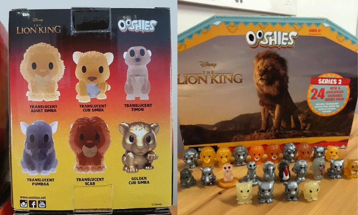 Woolies launches second series of Lion King Ooshies