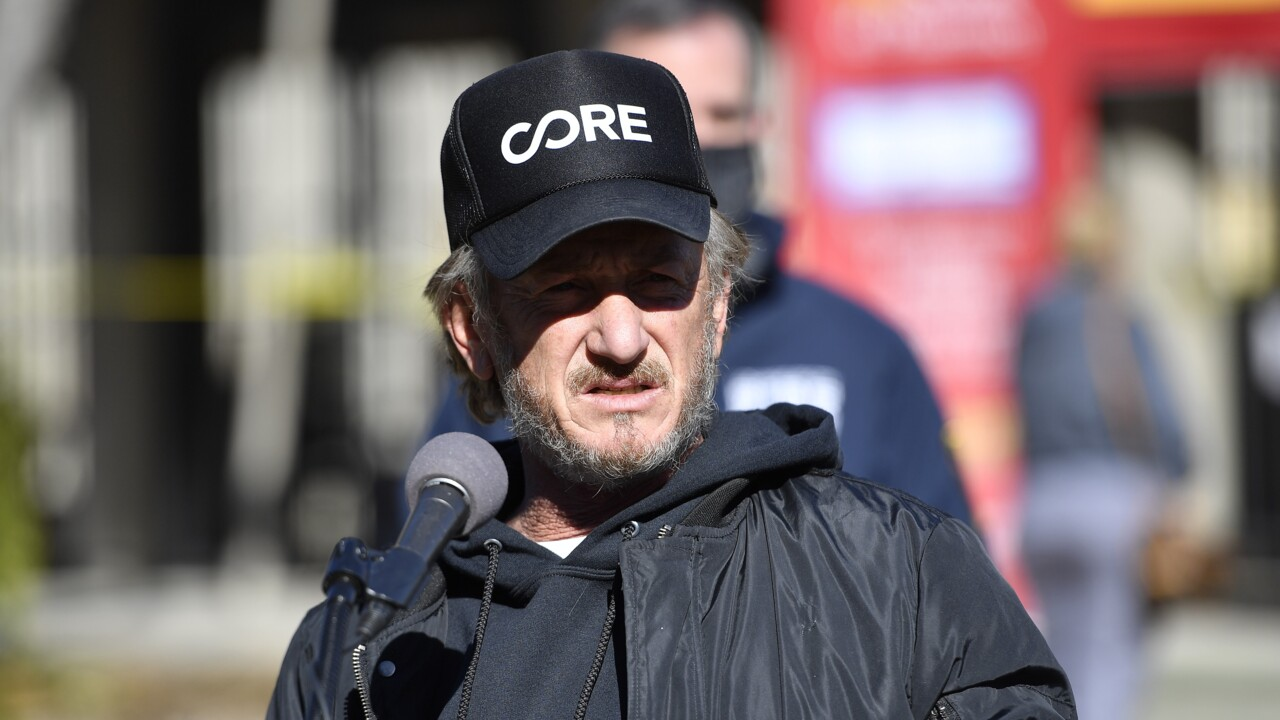 Sean Penn slams COVID vaccine workers who are complaining