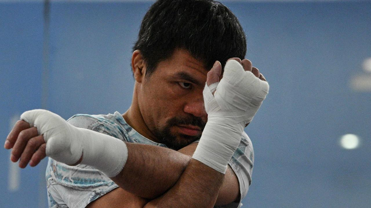Philippine boxing legend Manny Pacquiao.