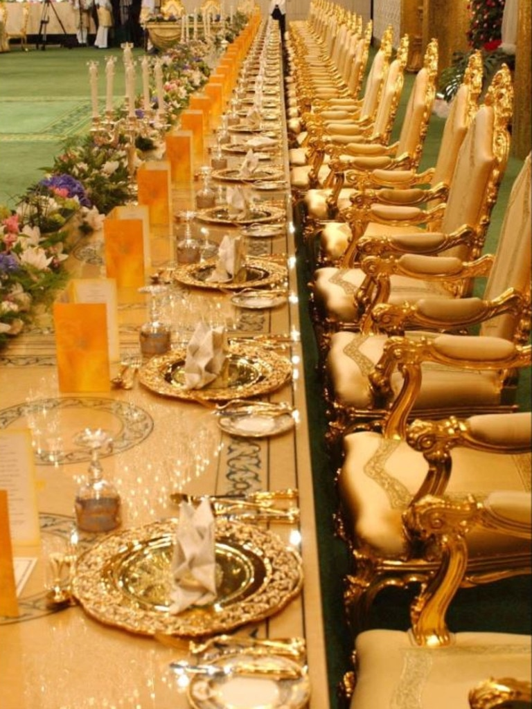 The banquet room holds 5000 guests. Picture: thesun.co.uk