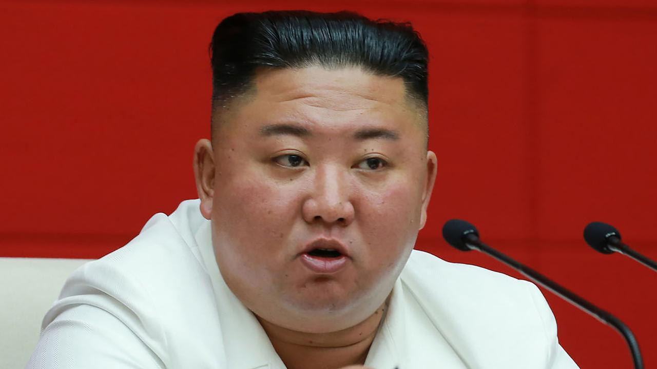 North Korea has not reported any coronavirus cases to the World Health Organization. Picture: AFP Photo/KCNA via KNS
