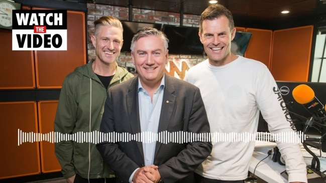 Eddie McGuire announces radio resignation