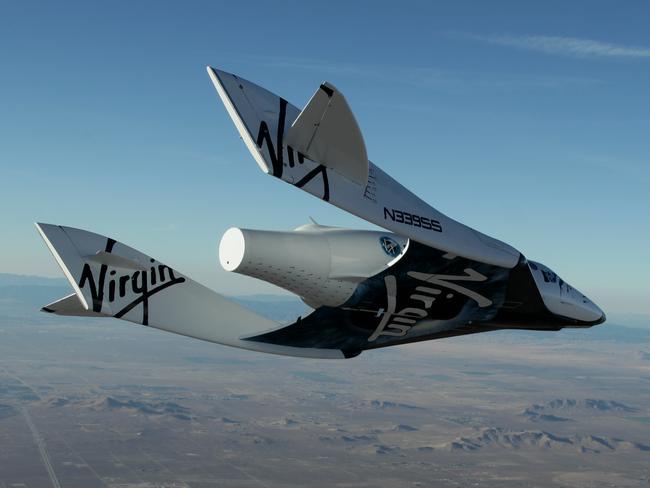 Testing is underway on Virgin Galactic's VSS Unity, a.k.a. SpaceShipTwo.