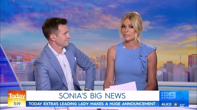 Sonia Kruger confirms Nine departure on air (Today)